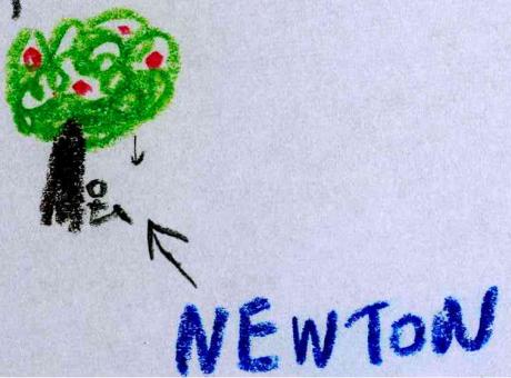 Newton elma ağacı altında hiç oturmamış olsaydı... Efenim? :)